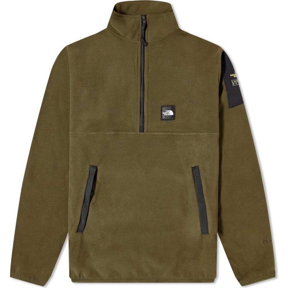 ザ ノースフェイス The North Face メンズ フリース トップス【Boruda Popover Fleece】Taupe Green