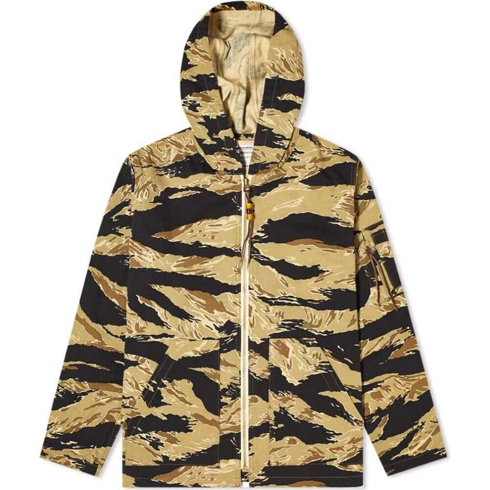 ザ リアル マッコイズ The Real McCoys メンズ コート アウター【The Real McCoy's Tiger Camouflage Parka】Gold