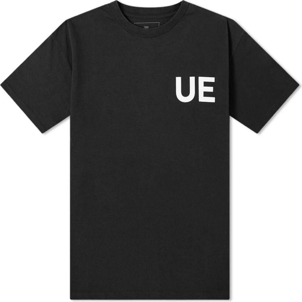 ユニフォームエクスペリメント Uniform Experiment メンズ Tシャツ トップス【Physical Fitness Tee】Black