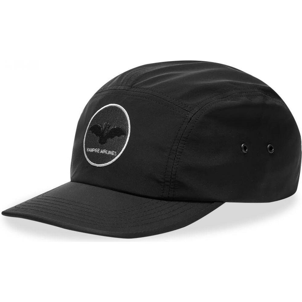 アンダーカバー Undercover メンズ キャップ 帽子【Vampire Airlines 5 Panel Cap】Black