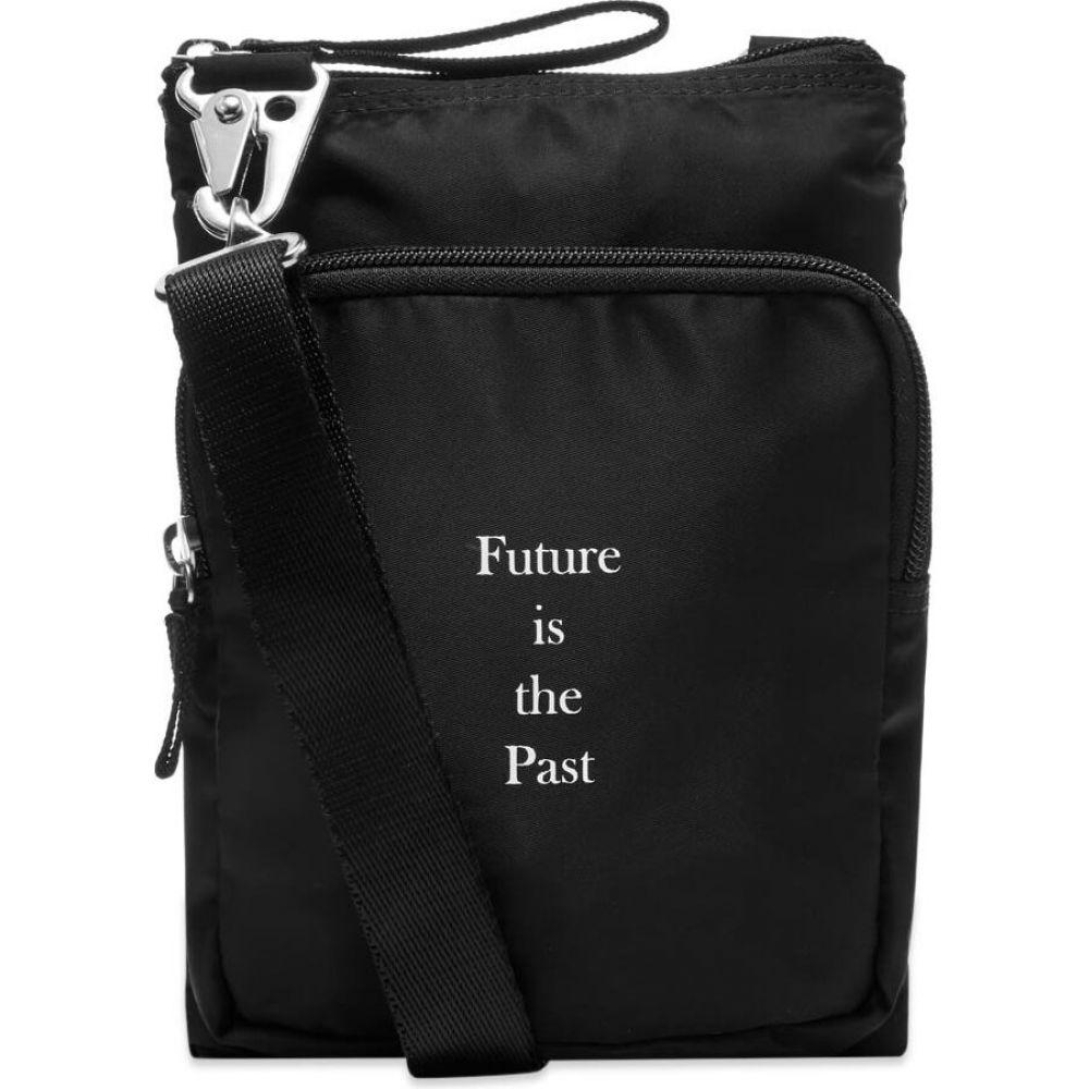 アンダーカバー Undercover メンズ ショルダーバッグ バッグ【Future is the Past Shoulder Bag】Black