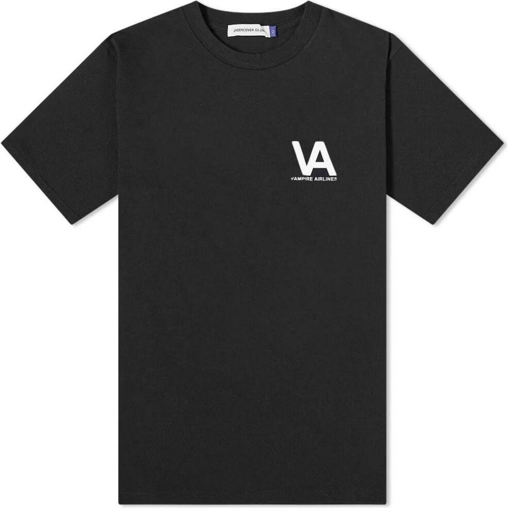 アンダーカバー Undercover メンズ Tシャツ トップス【Vampire Airlines Tee】Black