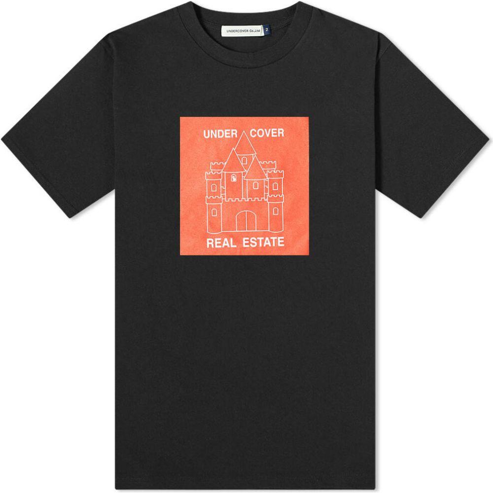 アンダーカバー Undercover メンズ Tシャツ トップス【Real Estate Tee】Black