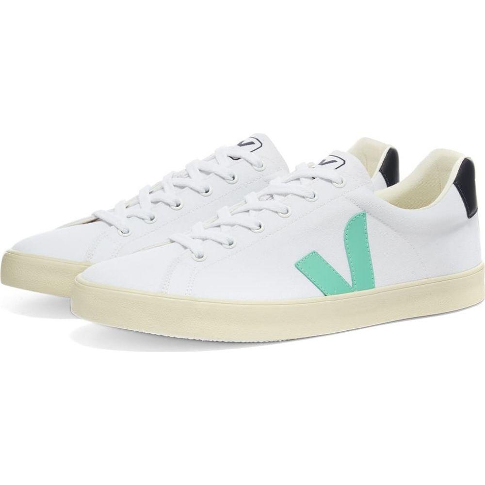 ヴェジャ Veja メンズ スニーカー シューズ・靴【Esplar SE Sneaker】White/Turquiose