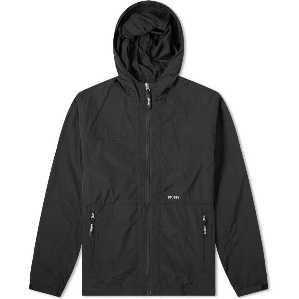 ステューシー Stussy メンズ ジャケット アウター【Block Tech Jacket】Black
