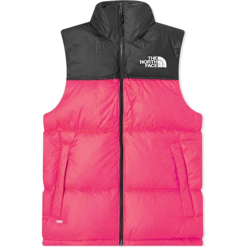 ザ ノースフェイス The North Face メンズ ベスト・ジレ トップス【1996 Retro Nuptse Vest】Mr. Pink