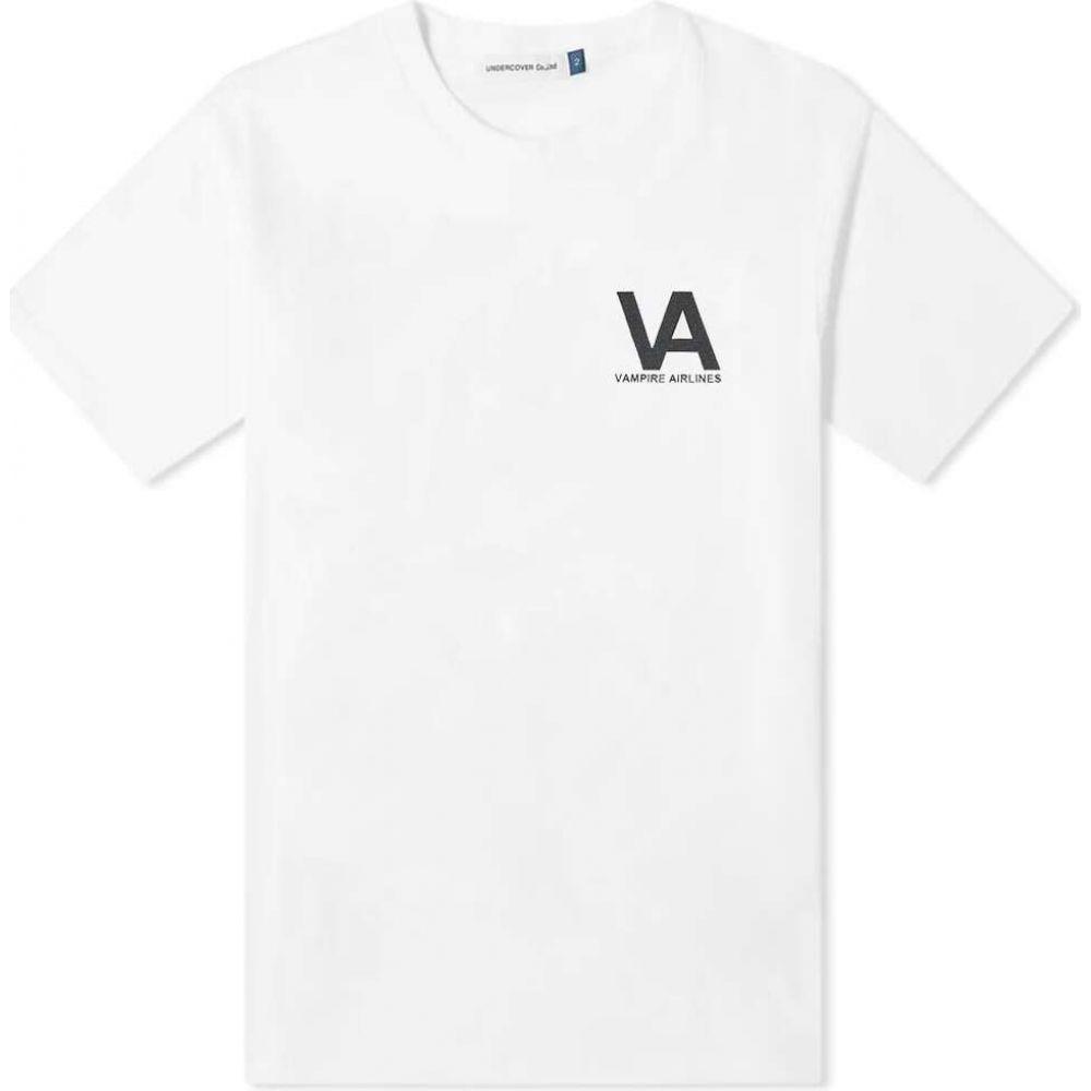 アンダーカバー Undercover メンズ Tシャツ トップス【Vampire Airlines Tee】White
