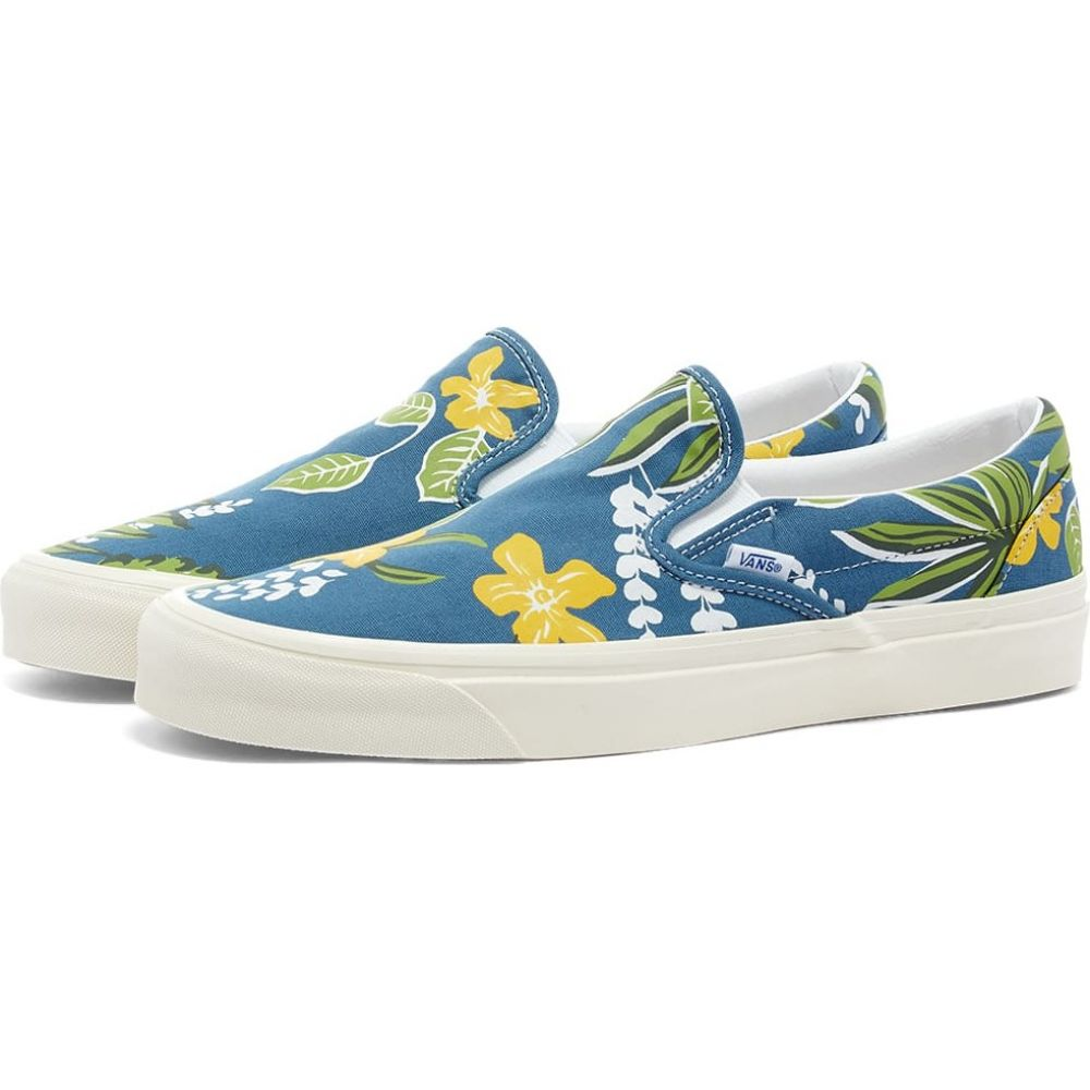 ヴァンズ Vans メンズ スリッポン・フラット シューズ・靴【Classic Slip-On 98 DX】Aloha/Navy