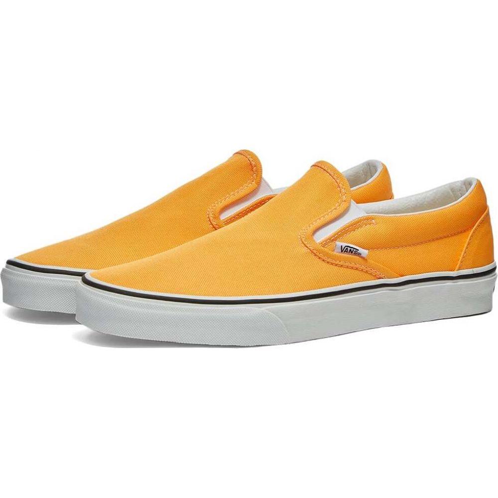 ヴァンズ Vans メンズ スリッポン・フラット シューズ・靴【UA Classic Slip-On】Blazing Orange/True White