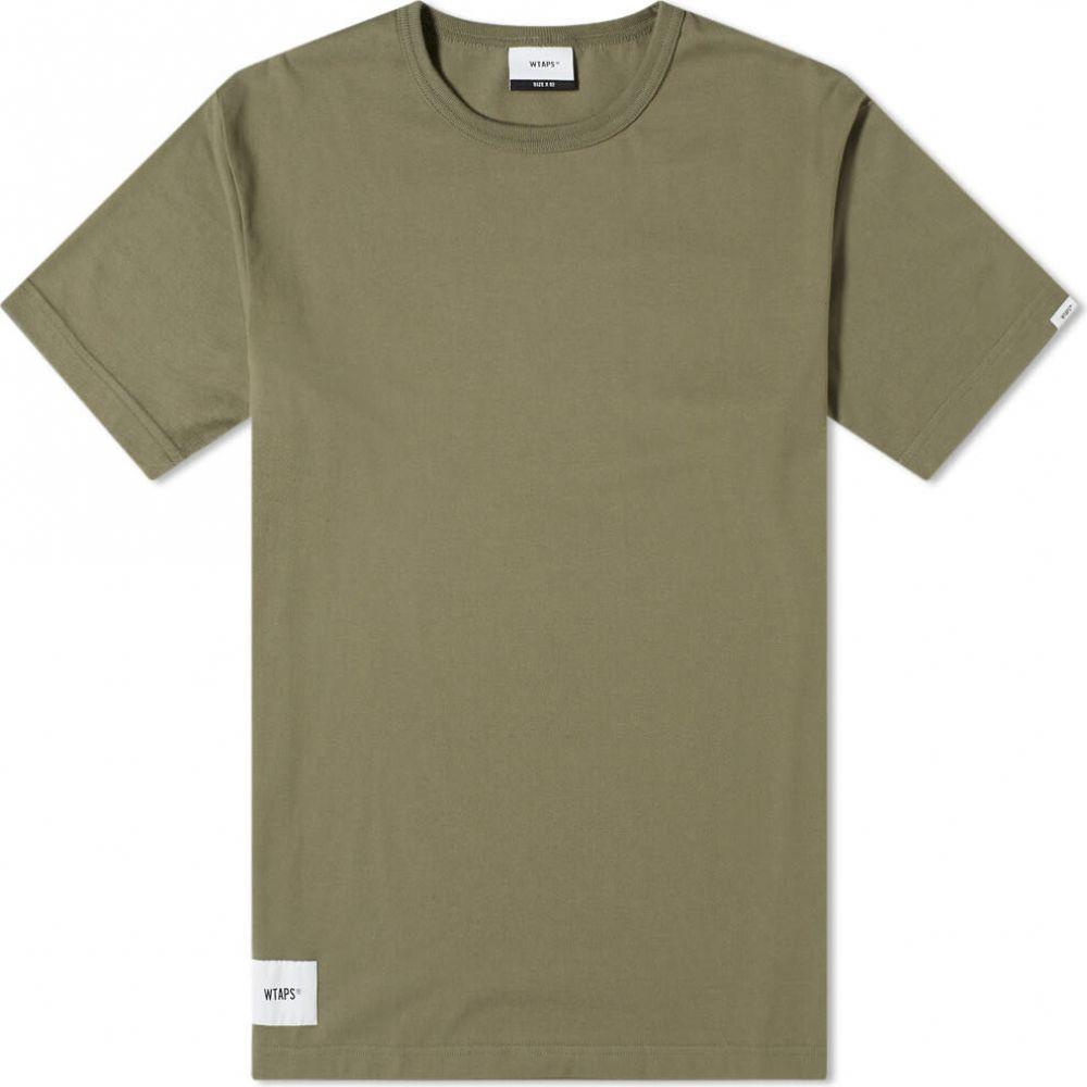 ダブルタップス WTAPS メンズ Tシャツ トップス【Academy Tee】Olive Drab