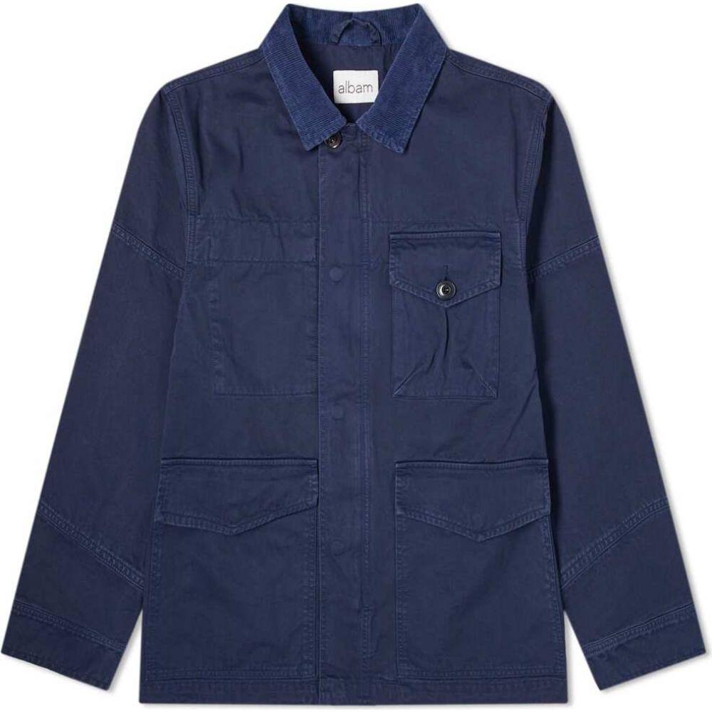 アルバム Albam メンズ ジャケット アウター【Garment Dyed Foundry Jacket】Navy