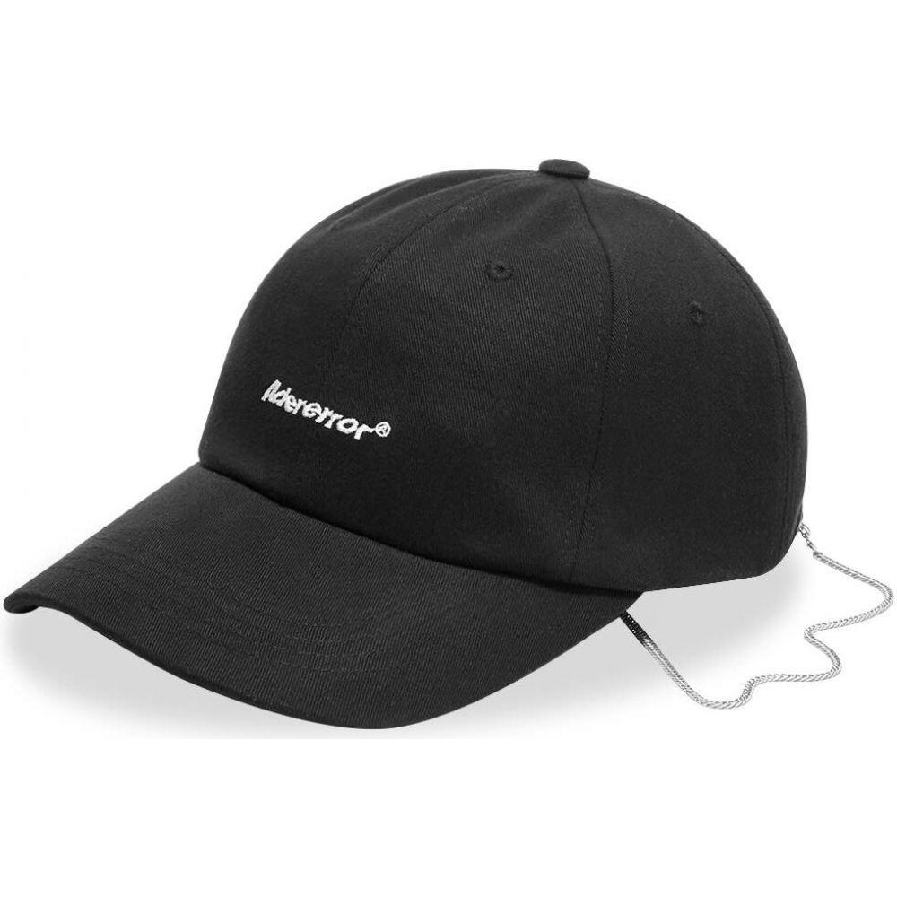 アーダーエラー ADER Error メンズ キャップ 帽子【ADER error Signature Logo Cap】Black