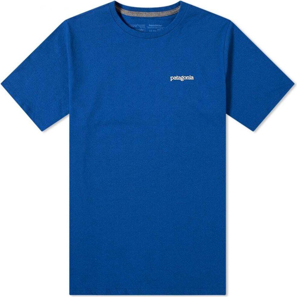 パタゴニア メンズ トップス Tシャツ Superior Blue 在庫一掃売り切りセール Responsibili-Tee サイズ交換無料 Horizons Roy Fitz Patagonia テレビで話題