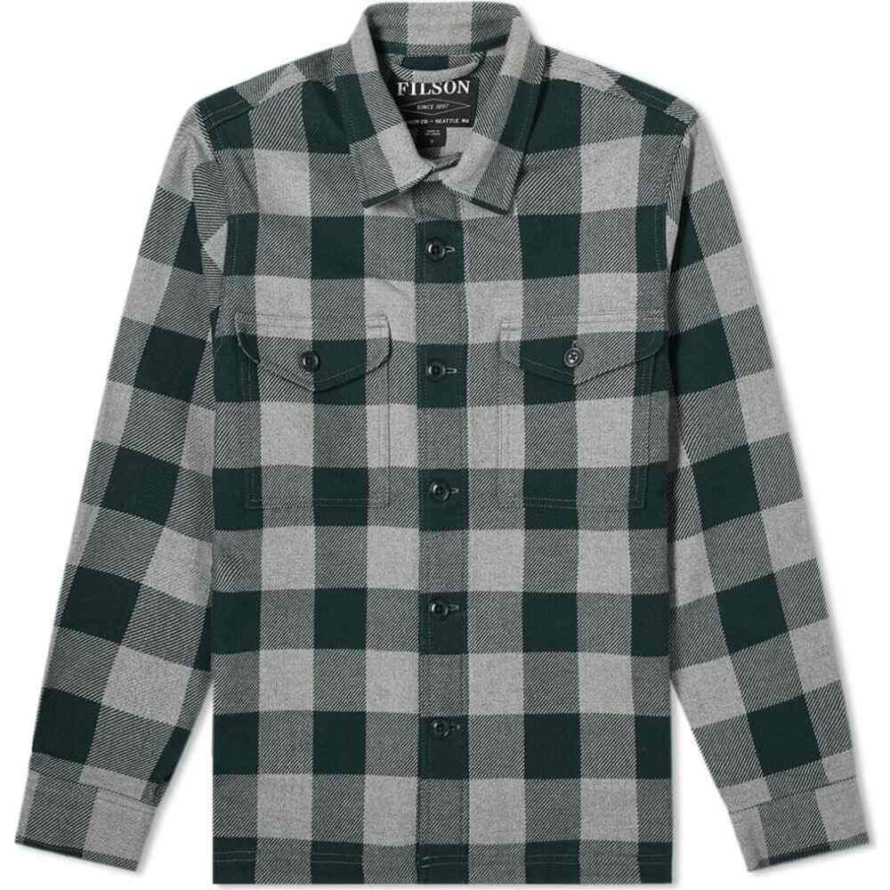 フィルソン Filson メンズ ジャケット シャツジャケット アウター【Deer Island Shirt Jacket】Grey