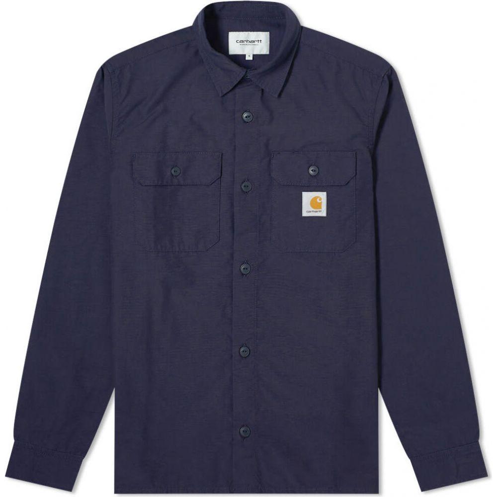 カーハート Carhartt WIP メンズ シャツ トップス【Field Shirt】Dark Navy