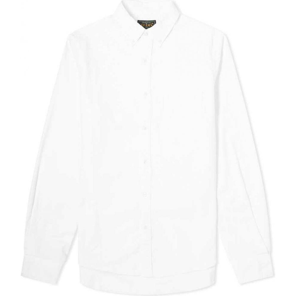 ビームス プラス Beams Plus メンズ シャツ トップス【Button Down Oxford Shirt】White