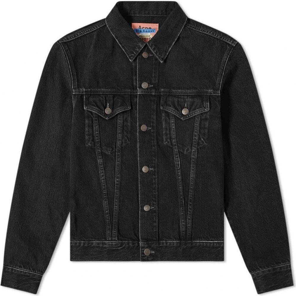 アクネ ストゥディオズ Acne Studios メンズ ジャケット Gジャン アウター【Trash 1998 Denim Jacket】Vintage Black
