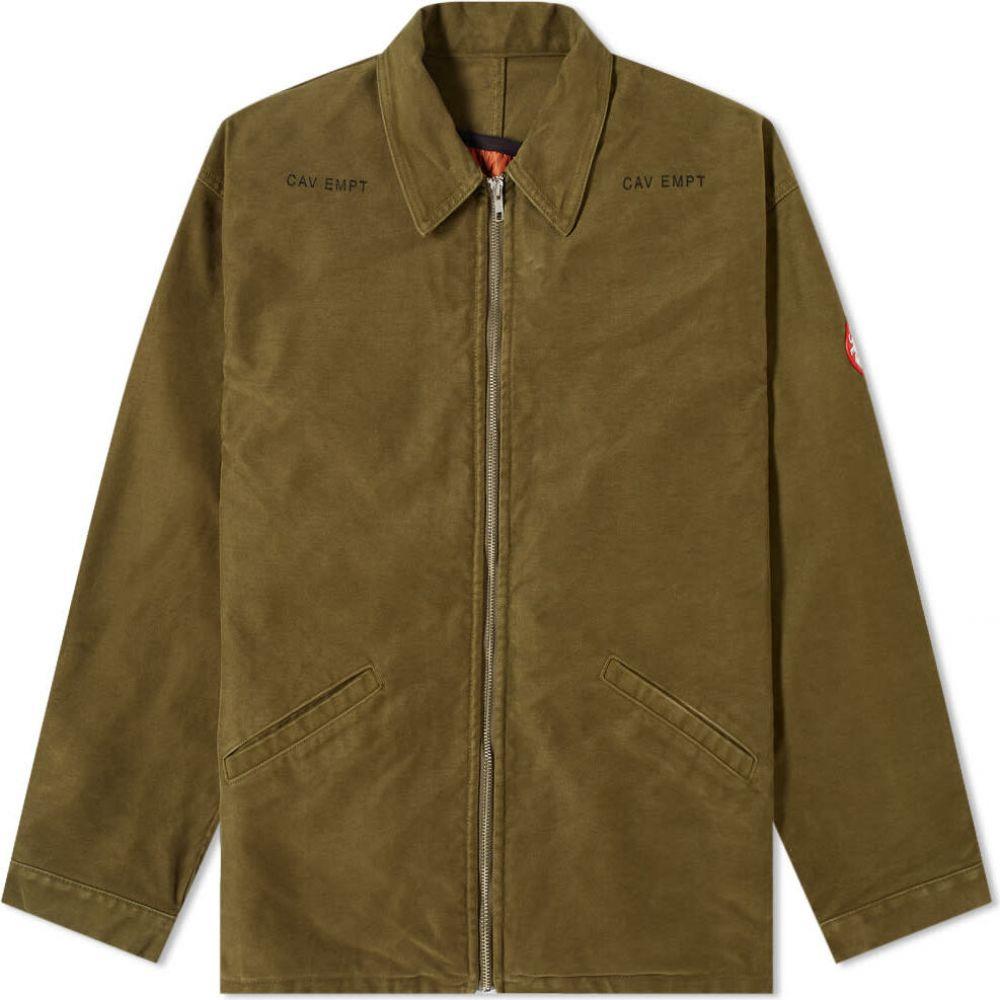 シーイー Cav Empt メンズ ジャケット アウター【Insulated Jacket】Green