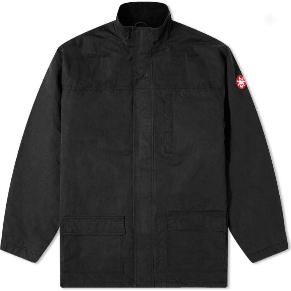 シーイー Cav Empt メンズ コート アウター【Public Warm Coat】Black