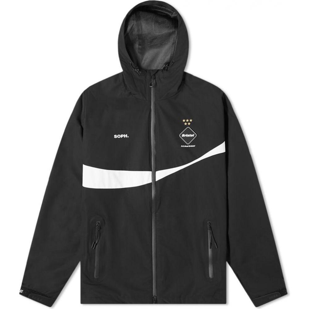 エフシーレアルブリストル F.C. Real Bristol メンズ ジャケット アウター【x Coca-Cola Warm Up Jacket】Black
