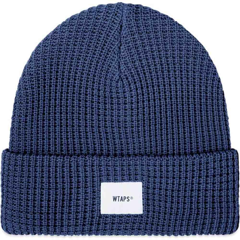 ダブルタップス WTAPS メンズ ニット ビーニー 帽子【Coolmax 02 Beanie】Navy