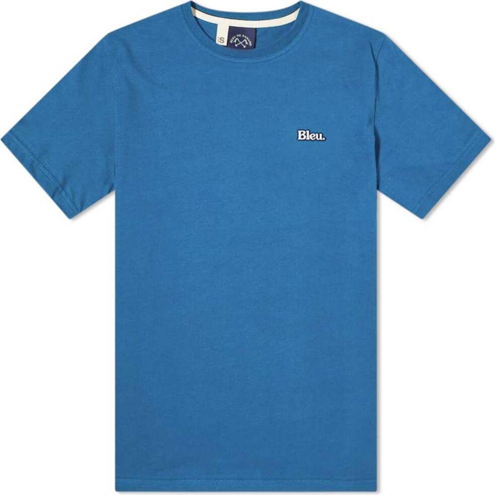 ブルー ドゥ パナム メンズ 人気ブランド トップス Tシャツ Azure Tee 定番 Blue サイズ交換無料 Bleu de Paname