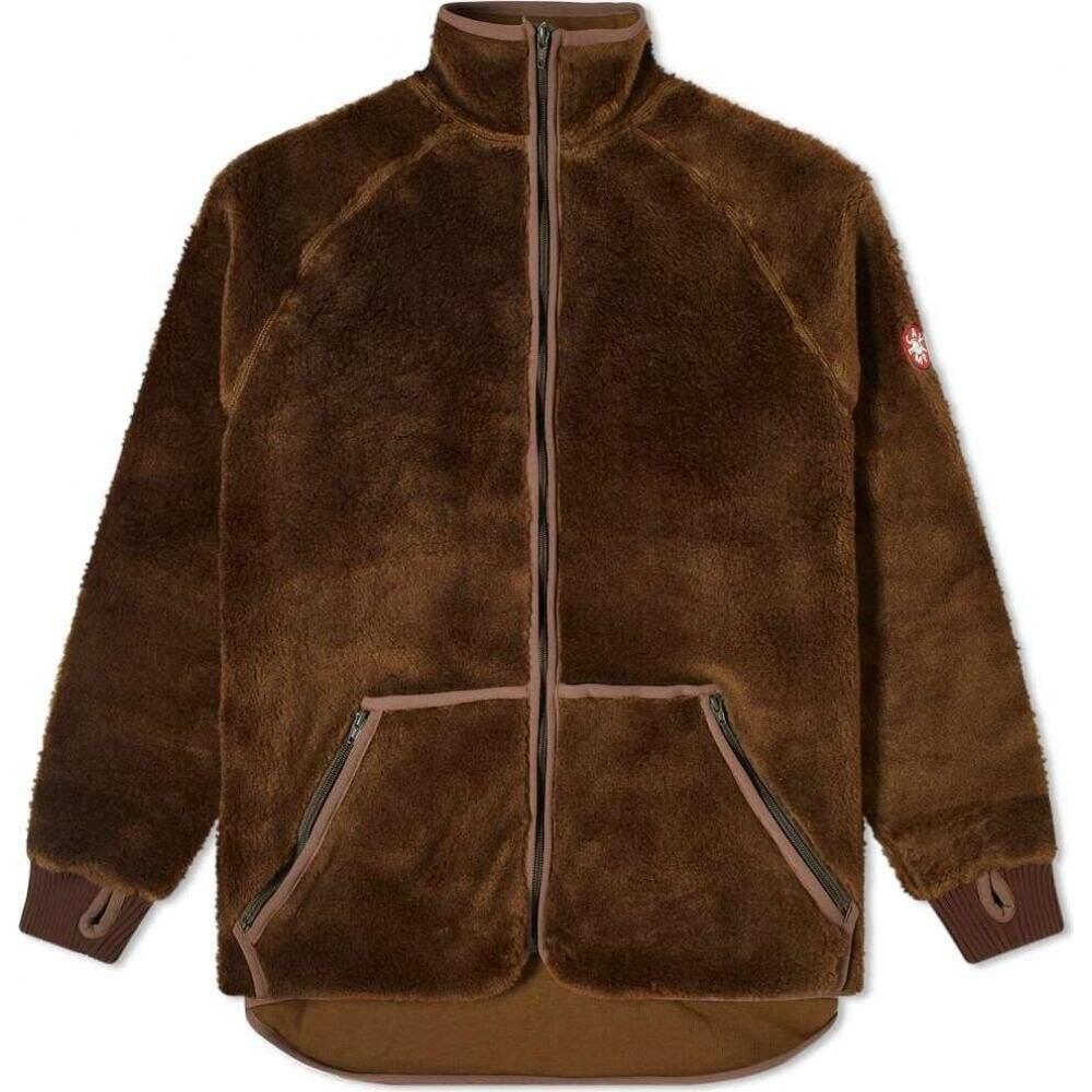 シーイー Cav Empt メンズ フリース トップス【Furry Fleece Zip Through】Brown