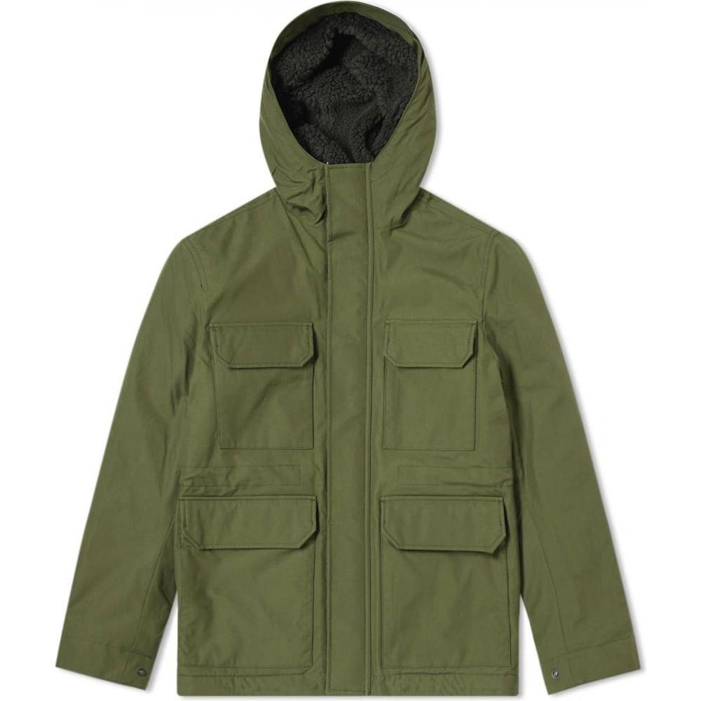 ノースプロジェクト Norse Projects メンズ ジャケット アウター【Cambric Nunk Jacket】Ivy Green