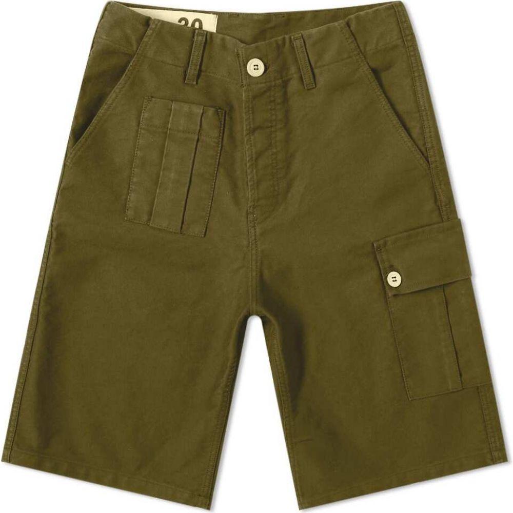 ブルー ドゥ パナム Bleu de Paname メンズ ショートパンツ ボトムス・パンツ【10 Yeas Short】Military Khaki