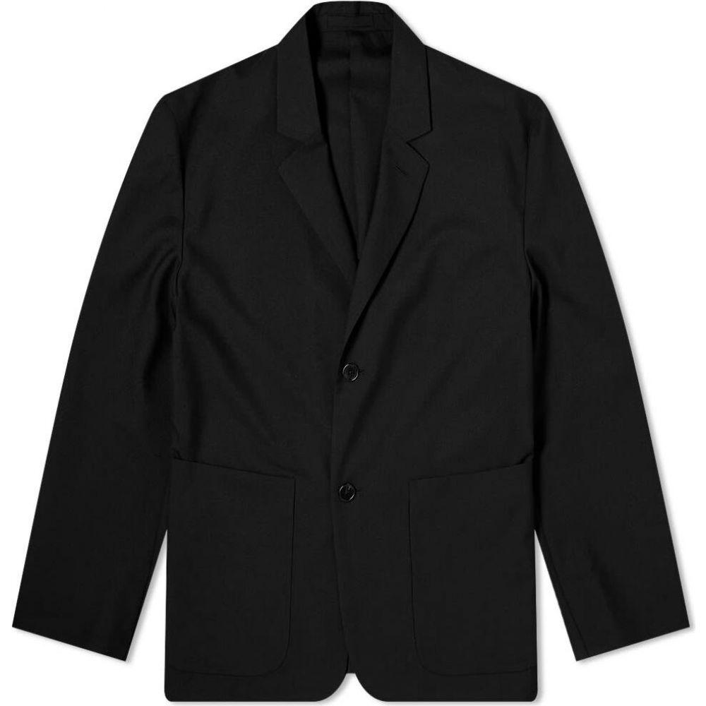 マーガレットハウエル Margaret Howell メンズ スーツ・ジャケット アウター【Big Pocket Blazer】Black