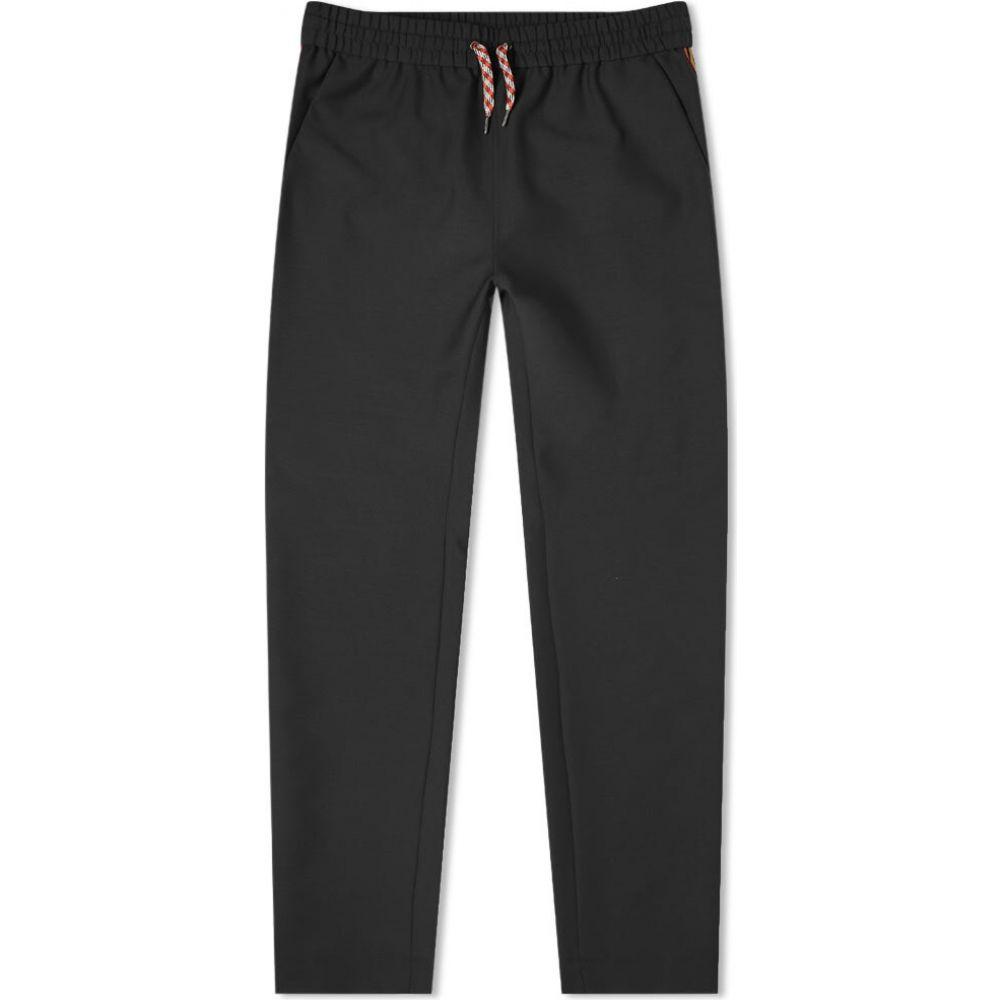 バーバリー Burberry メンズ スウェット・ジャージ ボトムス・パンツ【Stripe Track Pants】Black