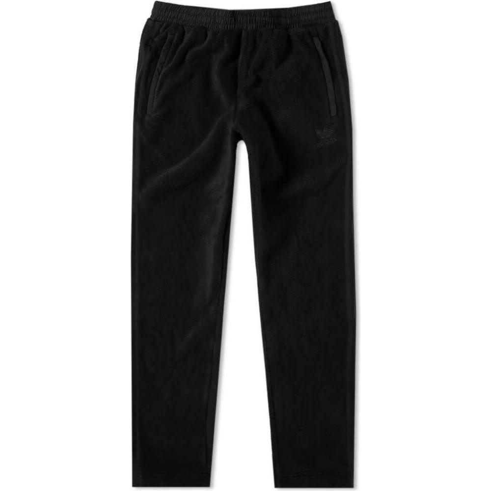 アディダス Adidas メンズ スウェット・ジャージ ボトムス・パンツ【Sportive Polar Fleece Track Pant】Black