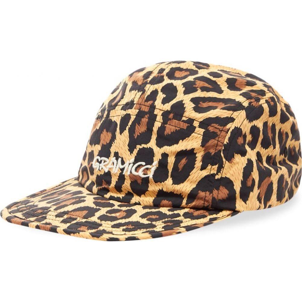 グラミチ Gramicci メンズ キャップ 5パネルキャップ 帽子【Shell Jet Cap】Leopard