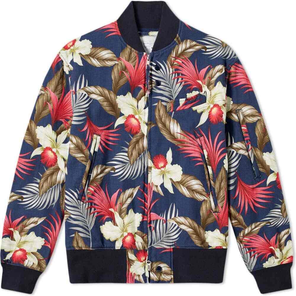 エンジニアードガーメンツ Engineered Garments メンズ ジャケット アウター Hawaiian Floral Jacket Navy 誕生日 売れ筋商品 お歳暮 忘年会 あす楽(翌日配送)について