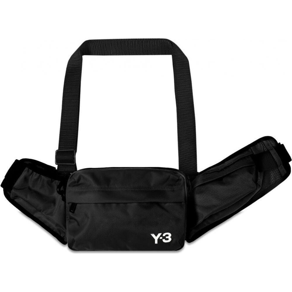 ワイスリー メンズ バッグ ショルダーバッグ Black 手数料無料 Core 激安通販専門店 Y-3 White Bag Sling サイズ交換無料
