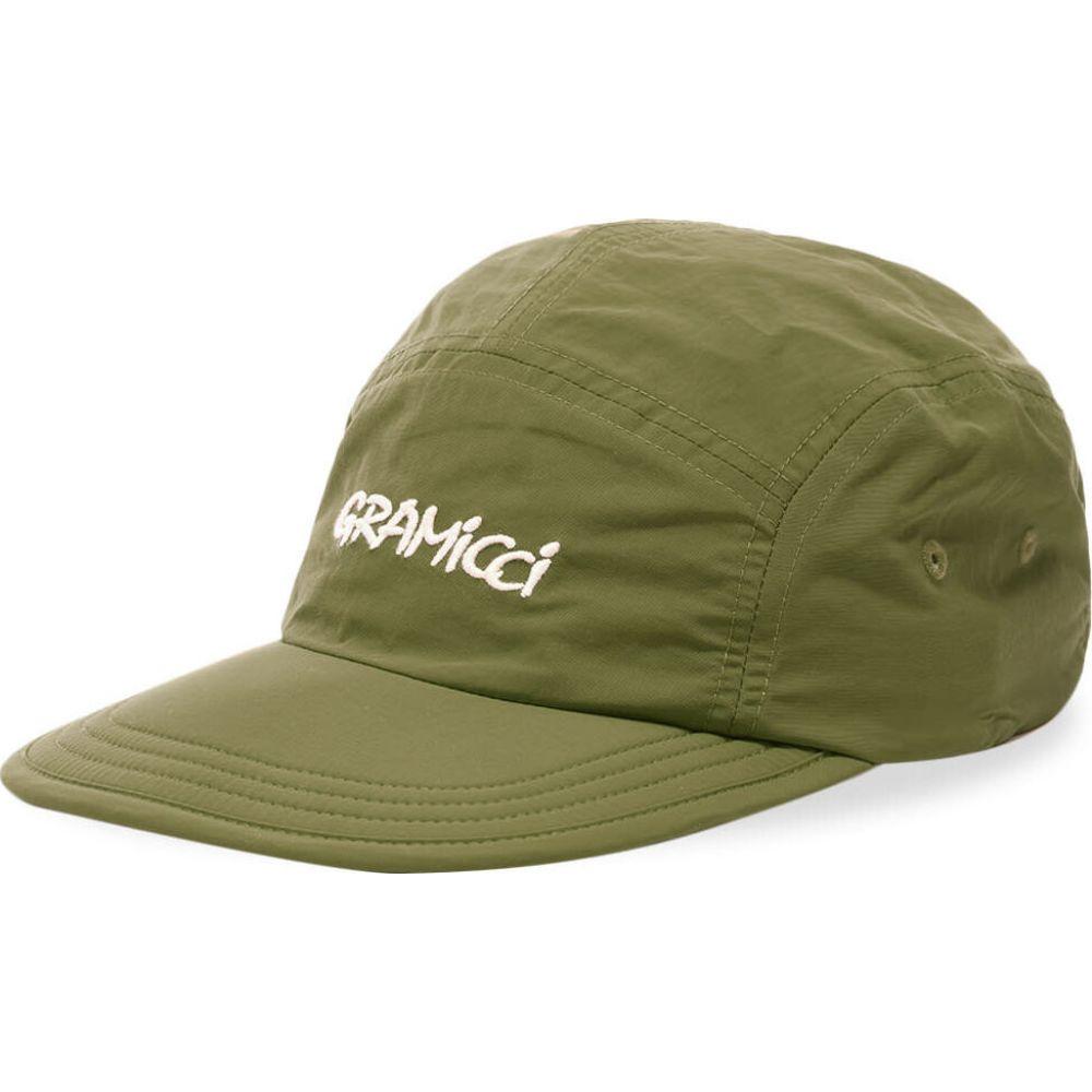グラミチ Gramicci メンズ キャップ 5パネルキャップ 帽子【Shell Jet Cap】Olive