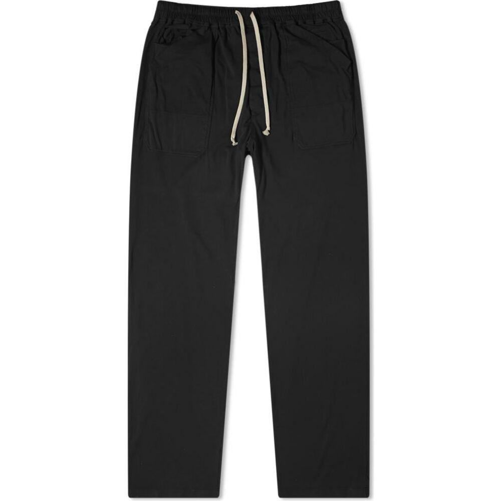 リック オウエンス Rick Owens メンズ ボトムス・パンツ 【DRKSHDW MT Drawstring Long Pant】Black