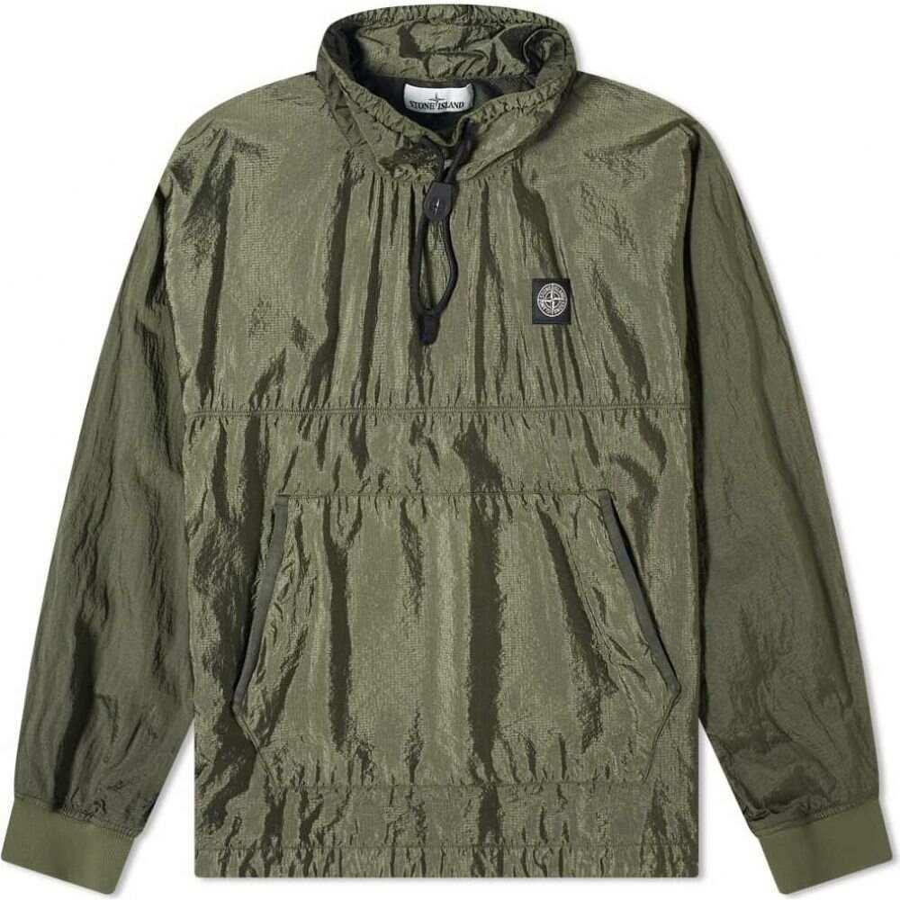 ストーンアイランド Stone Island メンズ ジャケット アウター【Garment Dyed Nylon Ripstop Metal Smock Jacket】Olive