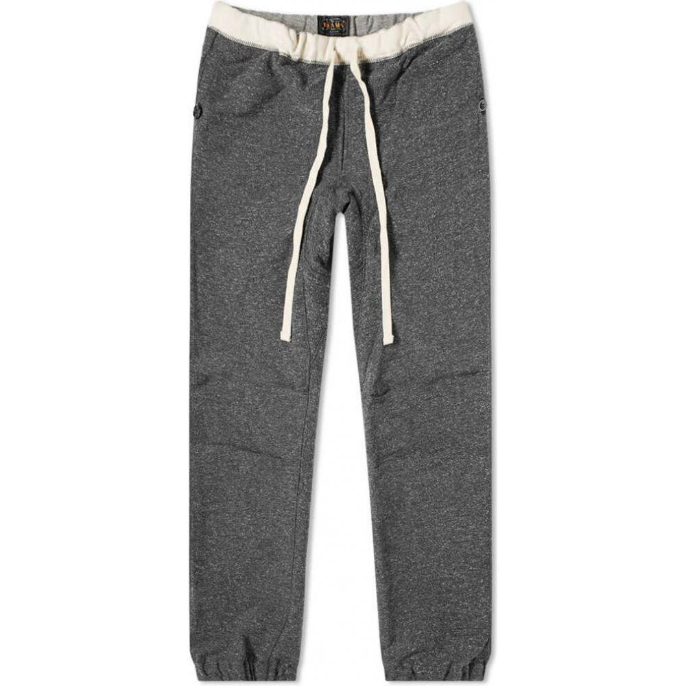 ビームス プラス Beams Plus メンズ スウェット・ジャージ ボトムス・パンツ【Slim Nep Gym Pant】Charcoal