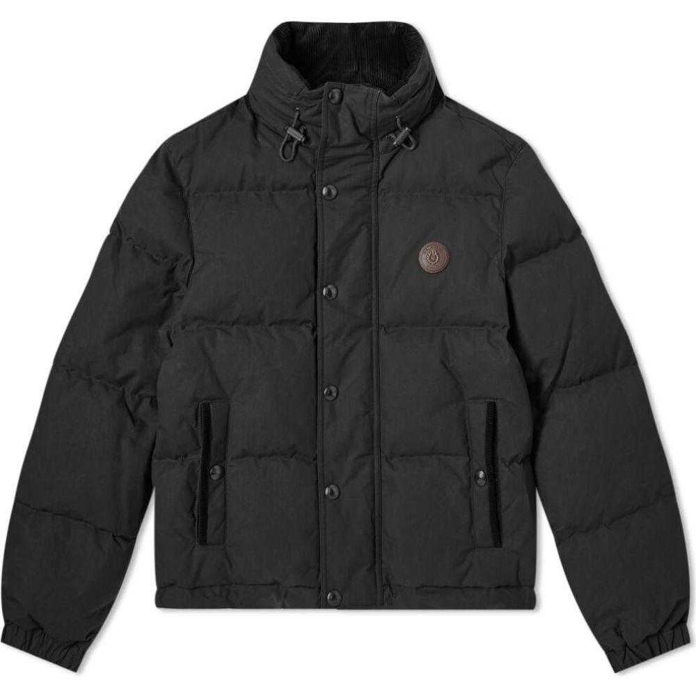 ベルスタッフ Belstaff メンズ ダウン・中綿ジャケット アウター【Aviation Waxed Puffer Jacket】Black