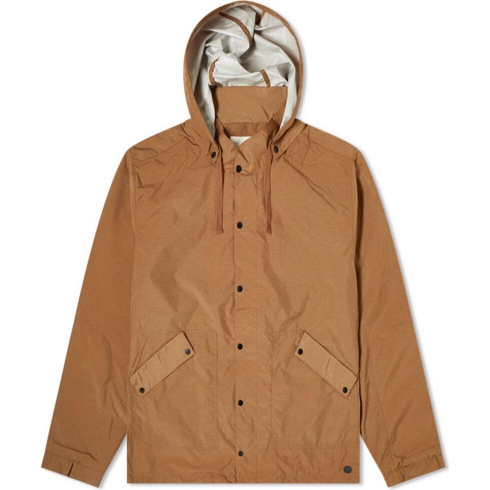 フォーク Folk メンズ レインコート フード アウター【Hooded Rain Jacket】Tan