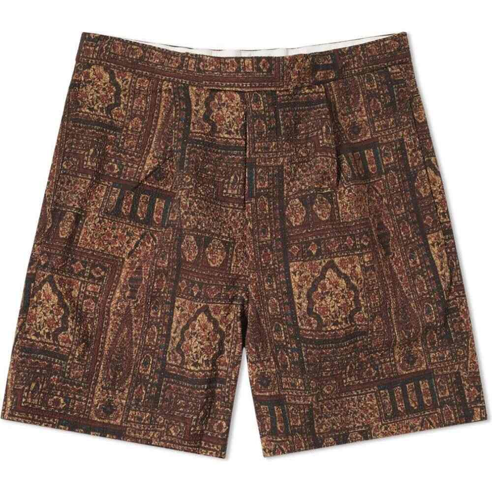 ビームス プラス Beams Plus メンズ ショートパンツ ボトムス・パンツ【Batik Print Short】Brown