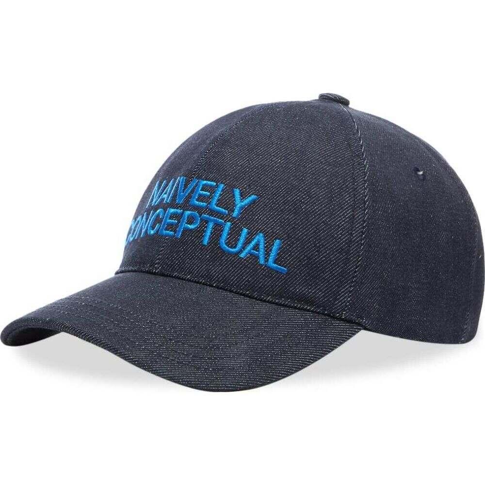 アーペーセー A.P.C. メンズ キャップ 帽子【Naively Conceptual Cap】Blue