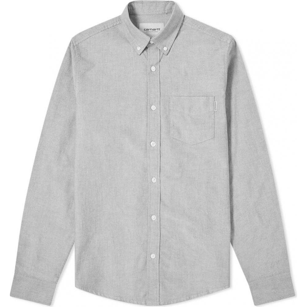 カーハート Carhartt WIP メンズ シャツ トップス【Button Down Pocket Shirt】Black