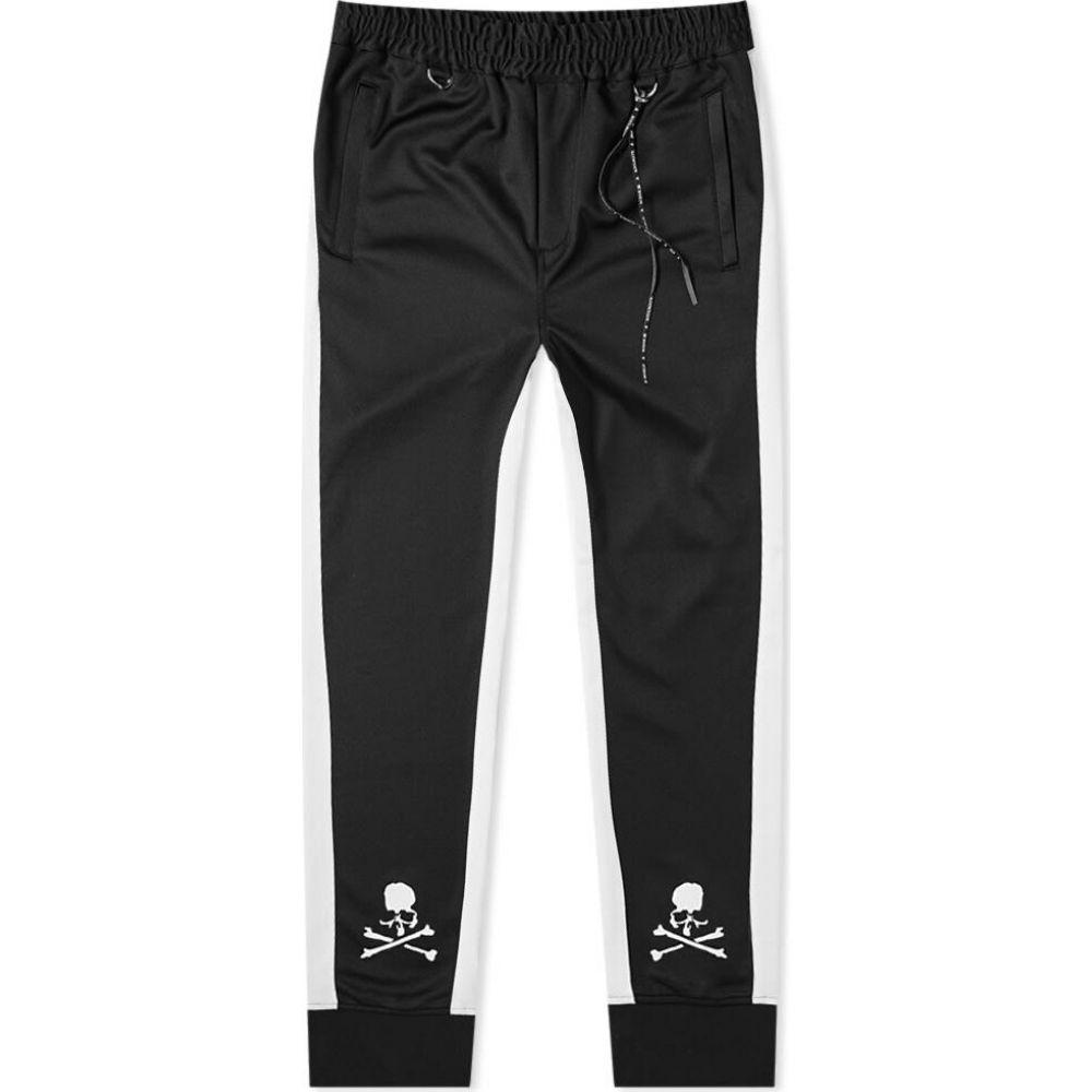 マスターマインド MASTERMIND WORLD メンズ スウェット・ジャージ ボトムス・パンツ【Tape Skull Track Pant】Black/White