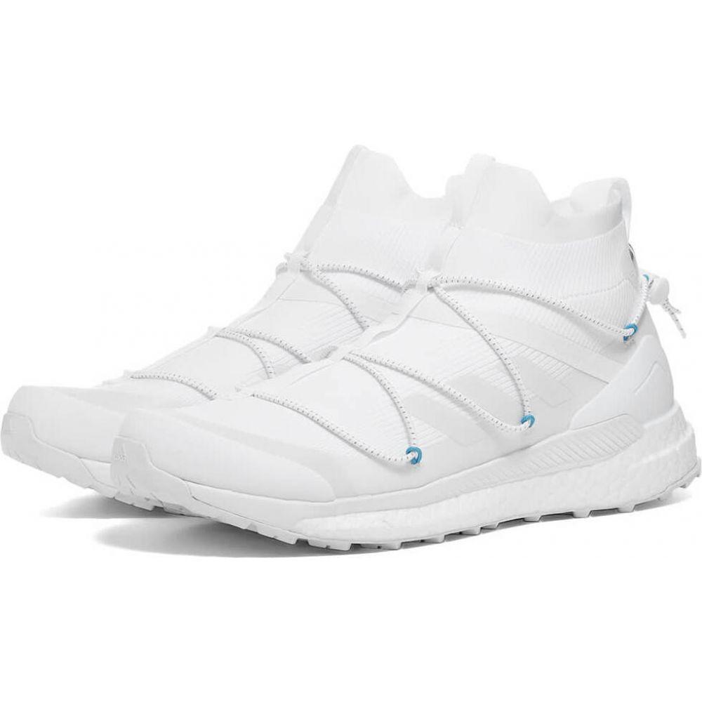 アディダス Adidas Consortium メンズ ハイキング・登山 シューズ・靴【Adidas x Kasina Terrex Free Hiker】White/Light Blue