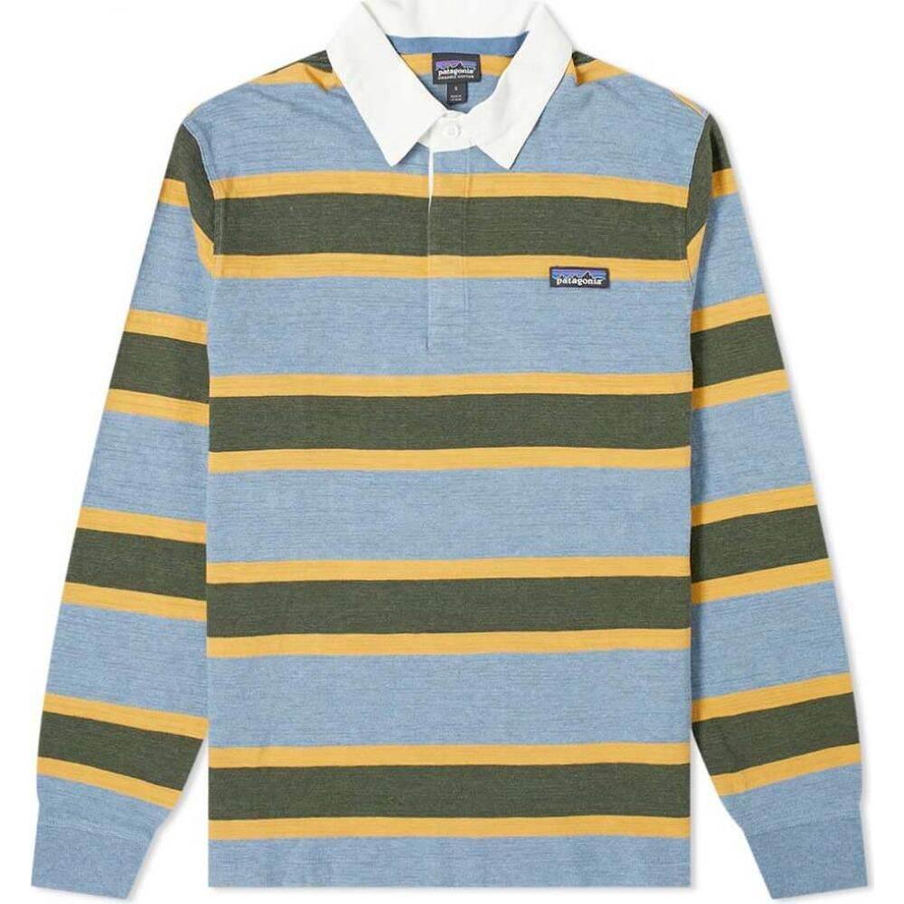 パタゴニア Patagonia メンズ ポロシャツ トップス【Lightweight Rugby Shirt】Woolly Blue