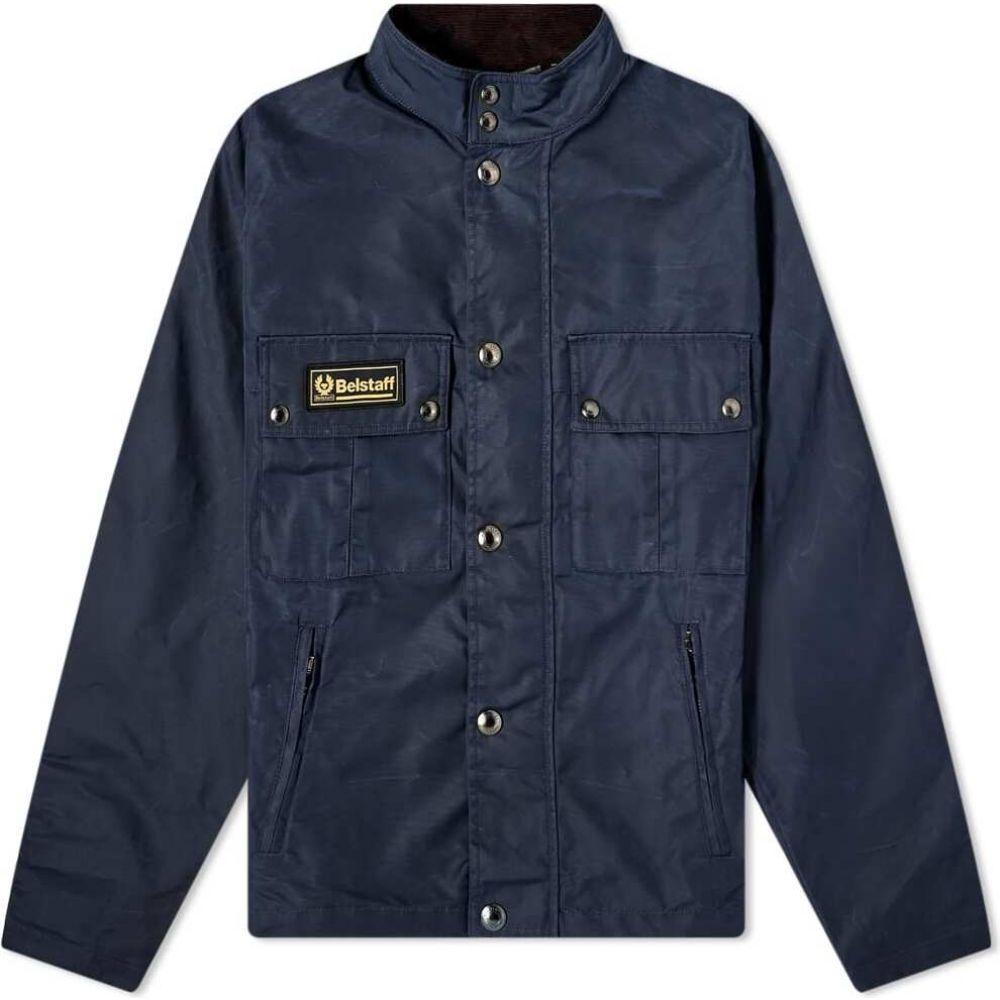 ベルスタッフ Belstaff メンズ ジャケット アウター【Instructor Jacket】Dark Ink
