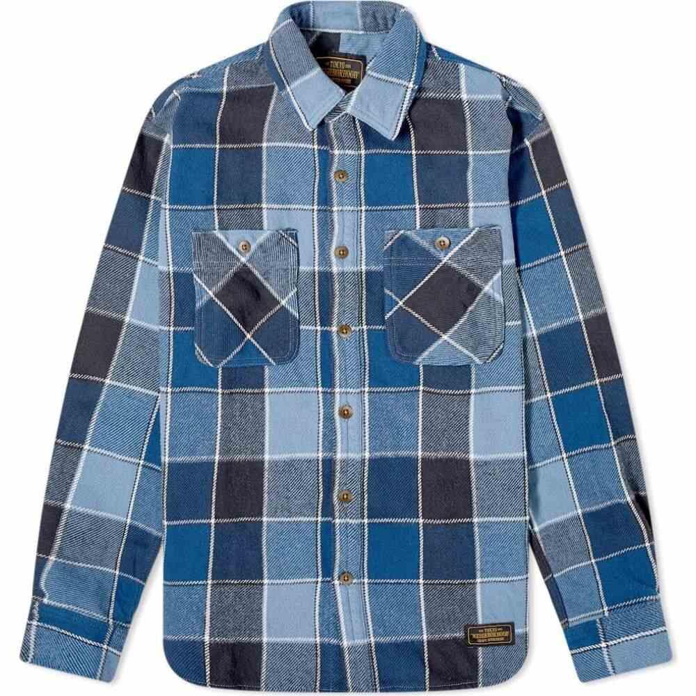ネイバーフッド Neighborhood メンズ シャツ トップス【Lumbers Shirt】Blue