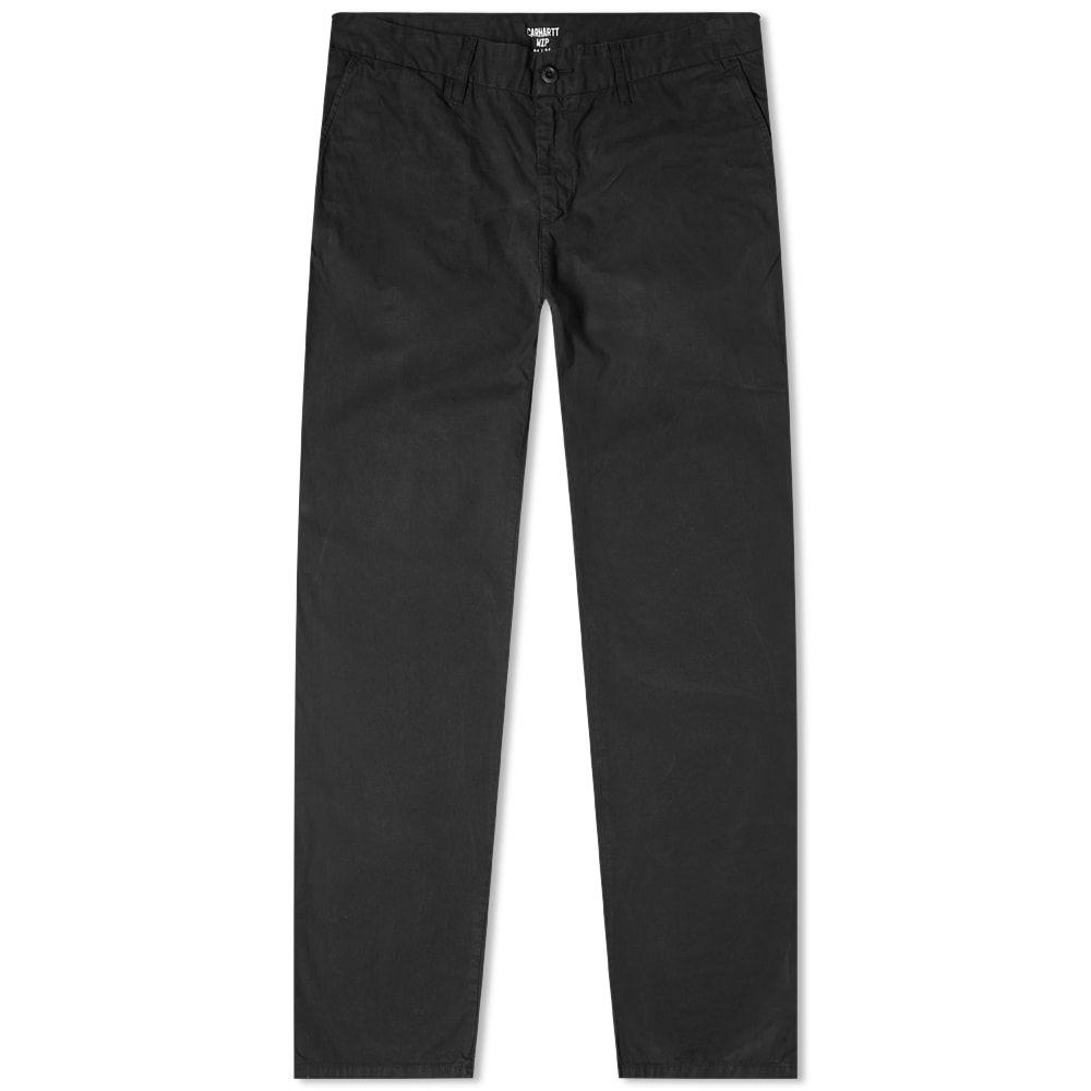 カーハート Carhartt WIP メンズ チノパン ボトムス・パンツ【Johnson Regular Tapered Chino】Black
